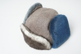 Color Fur Rosian Cap (BEIGE)<img class='new_mark_img2' src='https://img.shop-pro.jp/img/new/icons43.gif' style='border:none;display:inline;margin:0px;padding:0px;width:auto;' />