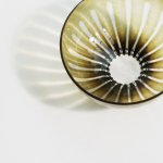 HIROY GLASS STUDIO ren/ボウルS olive
