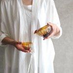 HIROY GLASS STUDIO ren/ぐい呑み brown