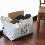 &NUT BIG CARRY TOTE【white】