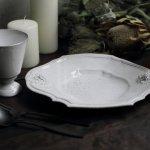 ジベアドゥベ/ルイXIVフィギュールアンティーク/スープ皿