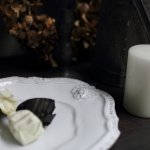ジベアドゥベ/ルイXIVフィギュールアンティーク/デザード皿 花柄