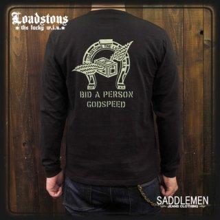 ロードストーンズ「L.W.HORSESHOE」ロングTシャツ