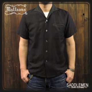MATTSON'S「POLKA DOTS」イタリアンカラーシャツ