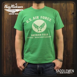 BUZZ RICKSONS「U.S. AIR FORCES」Tシャツ