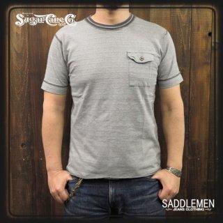 シュガーケーン「4NEEDLES BORDER」Tシャツ