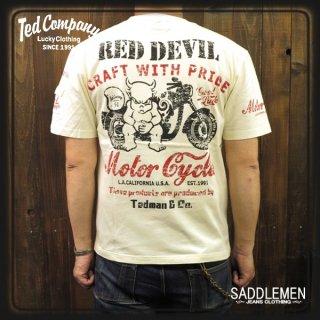 TEDMAN(テッドマン)「RED DEVIL MC」Tシャツ