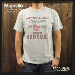 SALE!! Majestic「BOSTON REDSOX」Tシャツ