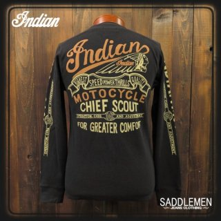 インディアンモトサイクル サーマルロングTシャツ