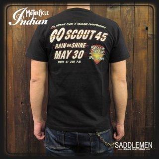 インディアンモーターサイクル「GO SCOUT 45」Tシャツ