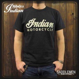 インディアンモーターサイクル「INDIAN LOGO」Tシャツ