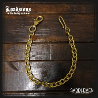ロードストーンズ 「Lucky Penny & Brass」ロングウォレットチェーン