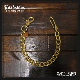 ロードストーンズ 「Lucky Penny & Brass」ショートウォレットチェーン