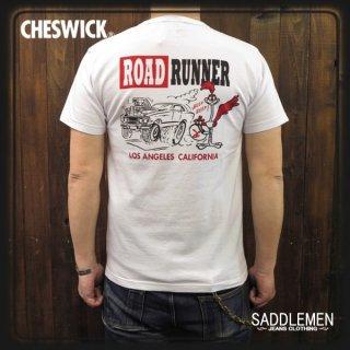 チェスウィック「L.A. CALIFORNIA」Tシャツ ロードランナー