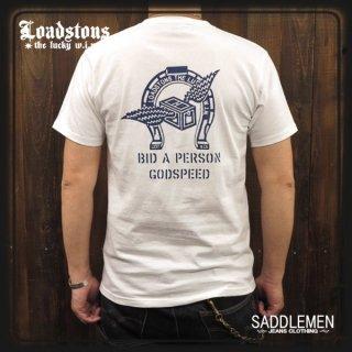 LOADSTONS「L.W.HORSESHOE」Tシャツ
