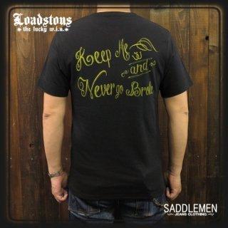 ロードストーンズ「ENCASED MESSAGE」ヘンリーネックTシャツ