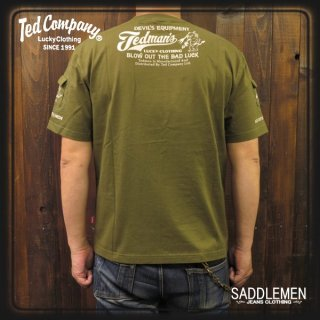 TEDMAN(テッドマン)「3Pocket」Tシャツ