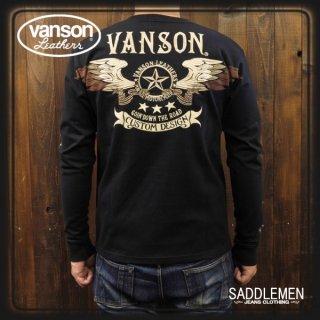 VANSON(バンソン) ロングTシャツ
