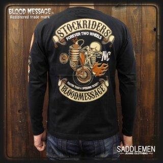 ブラッドメッセージ「STOCK RIDER」ロングTシャツ