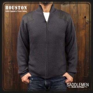 ヒューストン「COMMAND」ZIP セーター