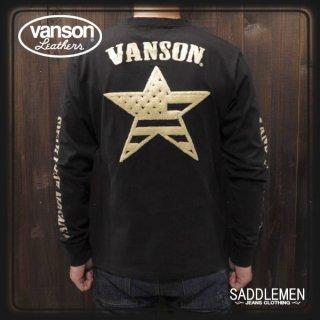 VANSON(バンソン) 「ONE STAR」ロングTシャツ