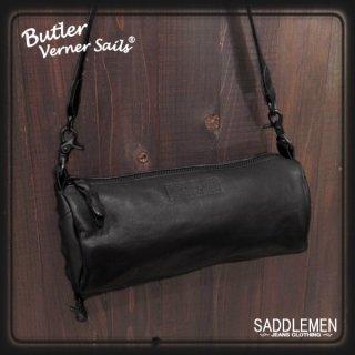 バトラーバーナーセイルズ 馬革ロールショルダーバッグ
