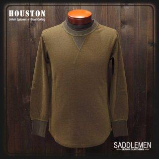ヒューストン「HEATHER RIB」ロングTシャツ