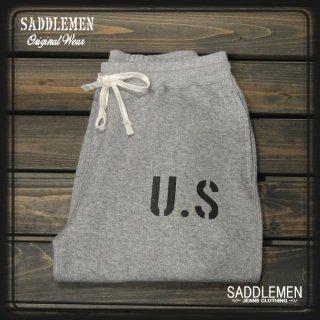 サドルメン「U.S STENCIL」スウェットパンツ