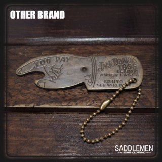 OTHER BRAND「YOU PAY HAND」キーホルダー
