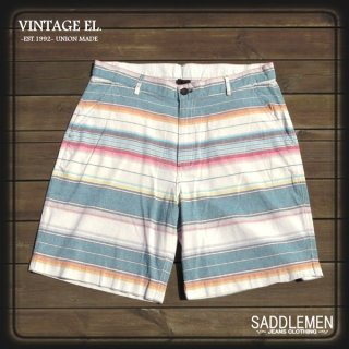 VINTAGE EL.「NATIVE BODER」ショートパンツ