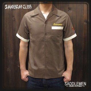 サムライ倶楽部「SAMURAI EMB. 」オープン・ワークシャツ