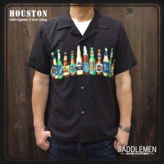 ヒューストン「BEER」アロハシャツ