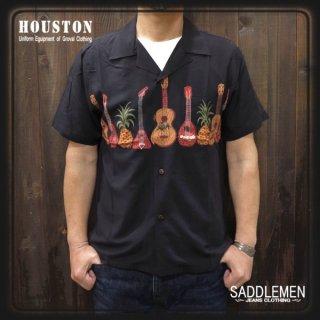 ヒューストン「GUITER」アロハシャツ