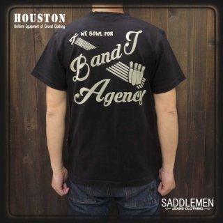 ヒューストン「BOWL」ボウリングTシャツ