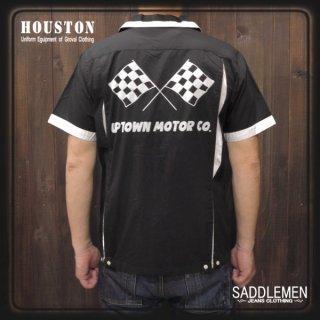 ヒューストン「MOTOR」ボウリングシャツ