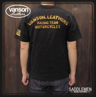 VANSON(バンソン) 「RACING TEAM MC」Tシャツ