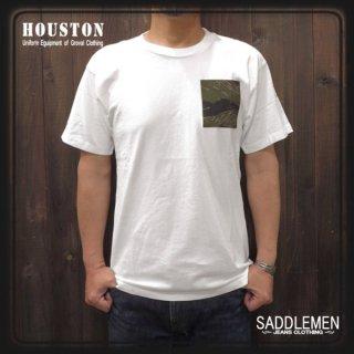 SALE!! ヒューストン「CAMO POCKET」Tシャツ定価5,292円