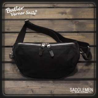 バトラーバーナーセイルズ パラフィン×本革ショルダーバッグ