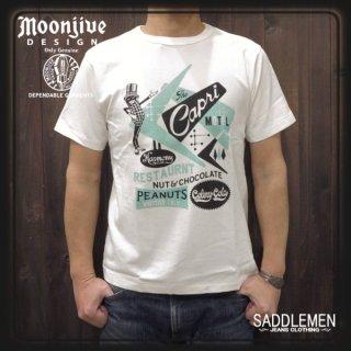 ムーンジャイブ「The Capri MOTEL」Tシャツ