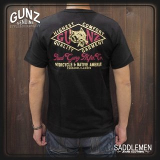 ガンズ「GUNZ BRAND LOGO」Tシャツ