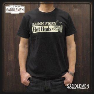 サドルメン「HOT RODS」Tシャツ