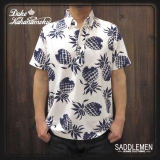 デュークカハナモク「DUKE'S PINEAPPLE」ポロシャツ