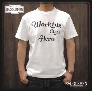 サドルメン「WORKING CLASS HERO」Tシャツ