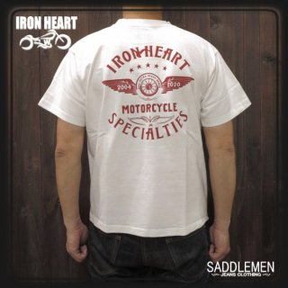 アイアンハート「フライングホイール」7.5oz.Tシャツ