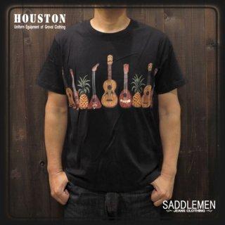 ヒューストン「GUITER」Tシャツ