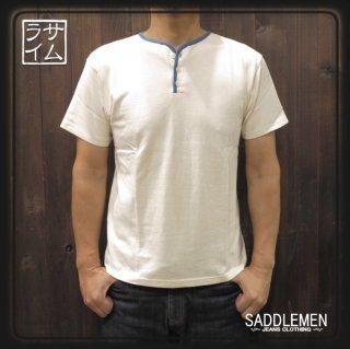 サムライジーンズ「Ripen Cotton」ヘンリーネックTシャツ