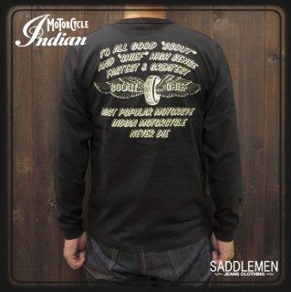 インディアンモーターサイクル「SCOUT&CHIEF」ロングTシャツ