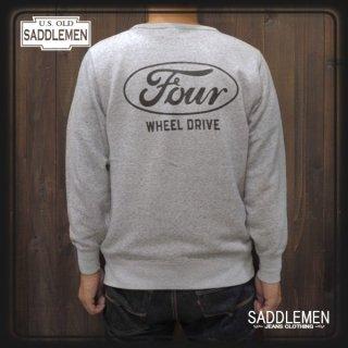 サドルメン「FOUR WHEEL DRIVE」ライト・スウェット