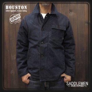 SALE! ヒューストン×ドゥニーム「DENIM A-2 」ジャケット <br />定価31,680円