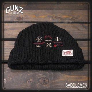 GUNZ「NATIVE AMERICAN SYMBOLS」ニットキャップ